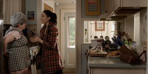 Nonna & Angie in kitchen