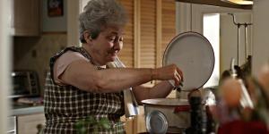 Nonna cooks